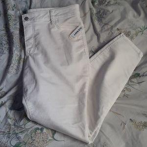 White Rockstar Jeans